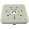 Socket - 7 Pin, Large, Ceramic for 813, Chinese image 1