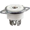 Socket - 7 Pin, Miniature, Ceramic with Mounting Ring image 1