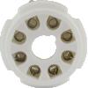 Socket - 8 Pin Octal, Ceramic PC Mount image 2