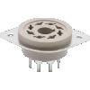 Socket - Belton, Micalex, 8-Pin Octal, MIP, Flanged Holes image 1