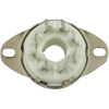 "Socket - 8 Pin Octal, 7/8"" Fits in 1"" Hole with Bracket PC Mount image 3"