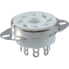 "Socket - 8 Pin Octal, 1"" with Bracket image 1"