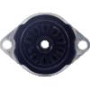 Socket - 9 Pin, Miniature, Bakelite, Bottom Mount Ring image 2