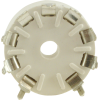 Socket - 9 Pin, Miniature, Plastic, PC Mount image 3