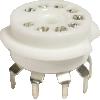 Socket - 9 Pin, Ceramic, PC Mount image 1