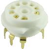 Socket - 9 Pin, Ceramic, PC Mount image 4