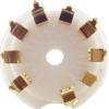 Socket - 9 Pin, Ceramic, PC Mount image 6