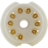 Socket - 9 Pin, Ceramic, PC Mount image 5