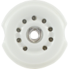 Socket - 9 Pin, Ceramic, PC Mount, with center shield image 2