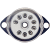 Socket - 9 Pin, Ceramic with Center Shield, Top Mount image 2