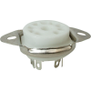 Socket - 9 Pin, Miniature, Ceramic, Chassis Mount image 1