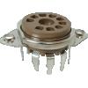 Socket - 9 Pin, PC Mount image 1