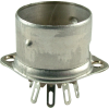 Socket - 9 pin, crimped with shield base, Micalex image 1
