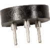 Transistor Socket - Mill Max, 3 Pin, Machine Pin, Through Hole  image 2