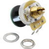 Potentiometer - Fender®, S-1, Knurled Shaft, 4PDT image 1