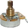 Potentiometer - Fender®, 250kΩ, Knurled Shaft, No Load image 2