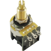 "Potentiometer - CTS, 500kΩ, Audio, Knurled, .75"" Bushing, DPDT image 1"