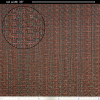 """Grill Cloth - Oxblood red, 36"""" Wide image 1"""