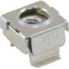 Nut - Cage, Zinc, 10-24, Electroplate Panel Range .064-.105 image 1