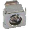 Nut - Cage, Zinc, 10-24, Electroplate Panel Range .064-.105 image 3