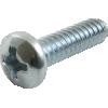 Screw - 6/32, Phillips, Pan Head, Machine, Zinc image 3