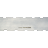 "Notched Straightedge - 16.5"" x 1.5"", Stainless Steel, Satin image 2"