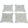 Radius Gauges - Notched, stainless steel image 1