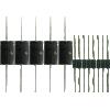 Cap Set - for Fender Deluxe Reverb AB763 (Black face) image 1