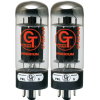 Vacuum Tube - 6L6 CHP, Groove Tubes, Black Plate, Matched Pair image 1