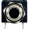 """Jack - Amphenol, Mono, 1/4"""", Non Switching, Metal Bore, Metal Nut, Metal Thread image 3"""