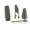 "1/4"" Plug - Amphenol, Jaws Clamp, Thermoplastic image 4"