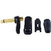 "1/4"" Plug - Neutrik, Right-angle, black plastic, gold contacts image 2"