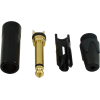 "1/4"" Plug - Neutrik, black plastic, gold contacts image 2"