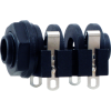 "1/4"" Jack - Rean, horizontal, switched, solder lugs image 1"
