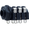"1/4"" Jack - Rean, horizontal, switched, solder lugs image 4"