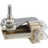 Switch-Switchcraft, Pickup Selector Toggle, DPDT, Nickel Finish, Right Angle image 1