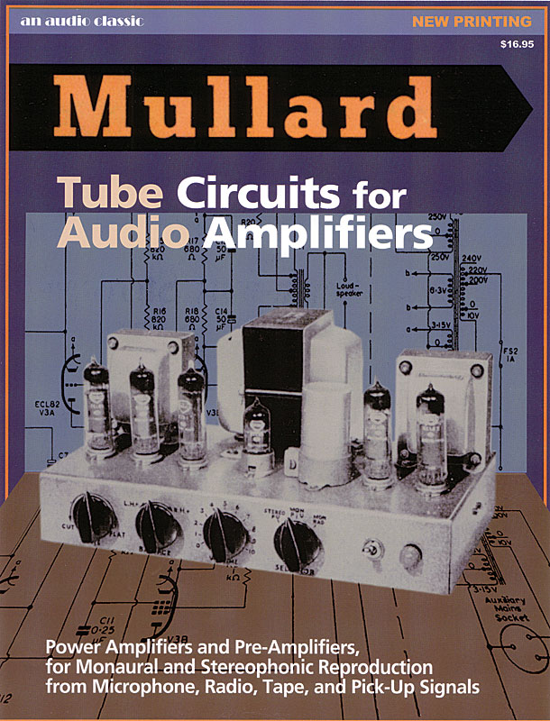 Mullard Circuits for Audio Amplifiers | Antique Electronic