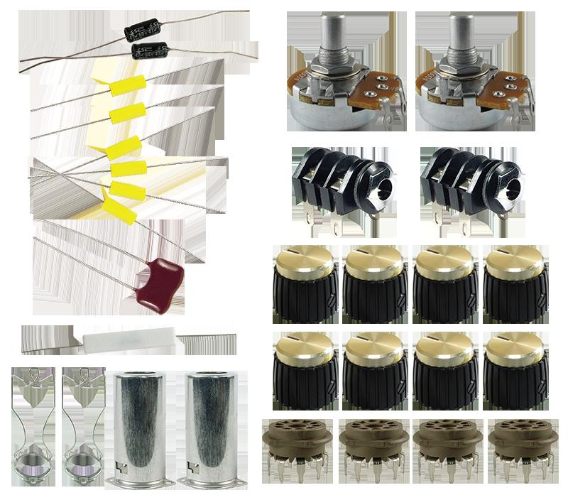 LiteIIB 18W Kit - Scratch Build Parts