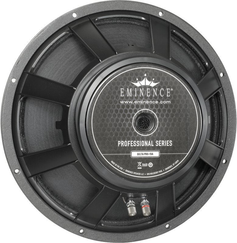 "Watt Meter For Speakers: Eminence® Pro, 15"", Delta Pro 15A, 400 Watts"