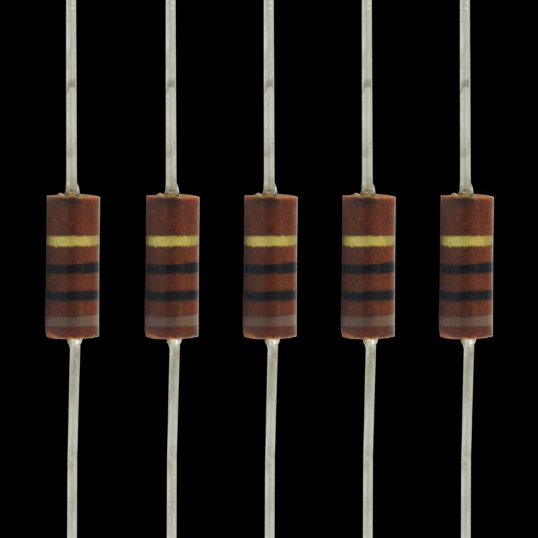 1//2 Watt Carbon Comp Resistors 10 Pack 620K ohm