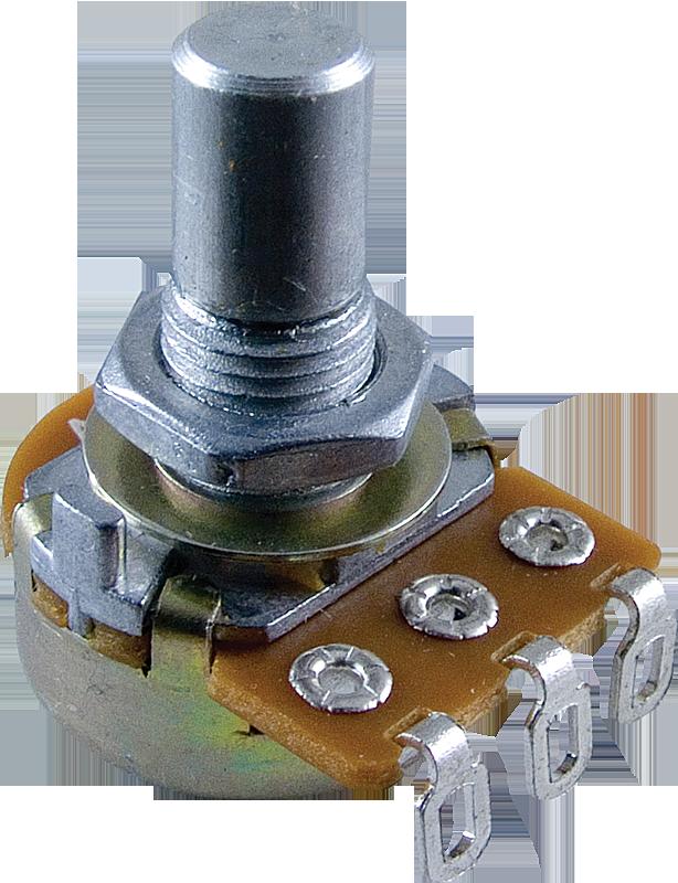 ALPHA 100K LINEAR TAPER POTENTIOMETER   8 mm bushing 1//4 inch shaft,Solder lug