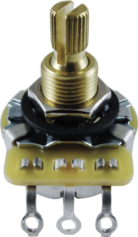 Potentiometer - CTS, Linear, Knurled Shaft, 3/8