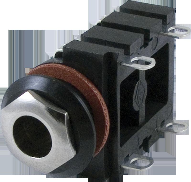 jack mono 1 4 4 solder lugs switched antique electronic supply rh tubesandmore com Les Paul Wiring Speaker Jack Wiring