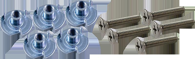 Fasteners Hardware Amp Building Materials : Hardware fender screws t nuts for handle antique